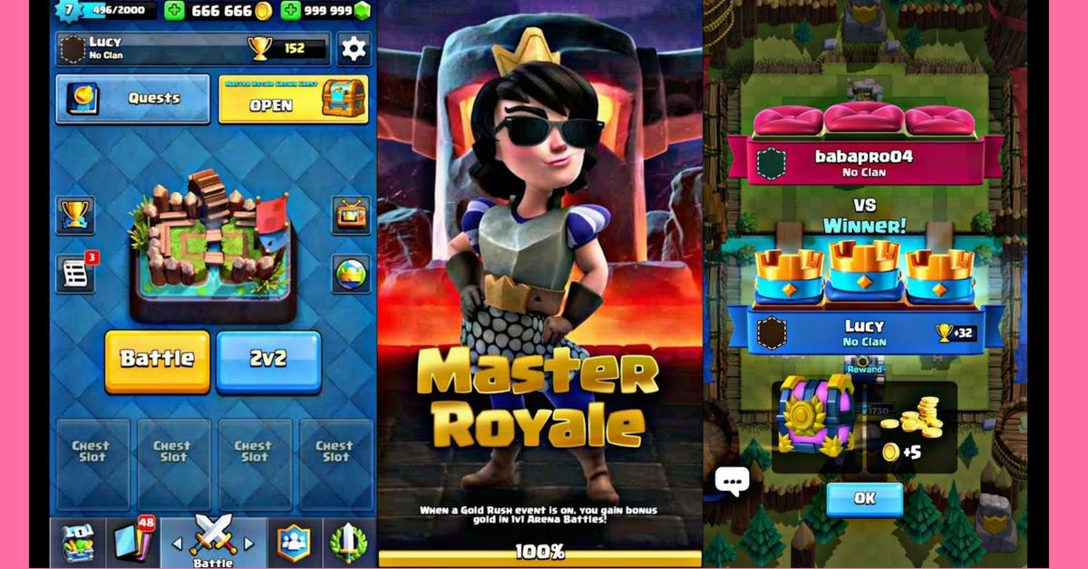 clash royale mod apk updated version