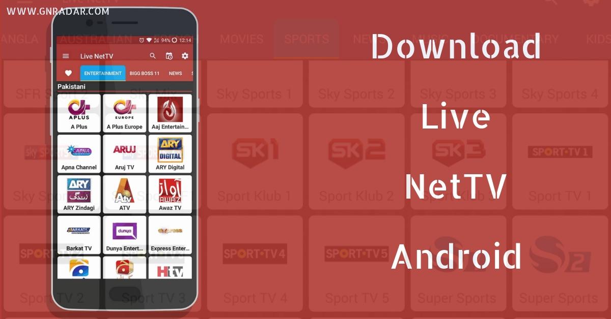 LIVE NETTV TÉLÉCHARGER