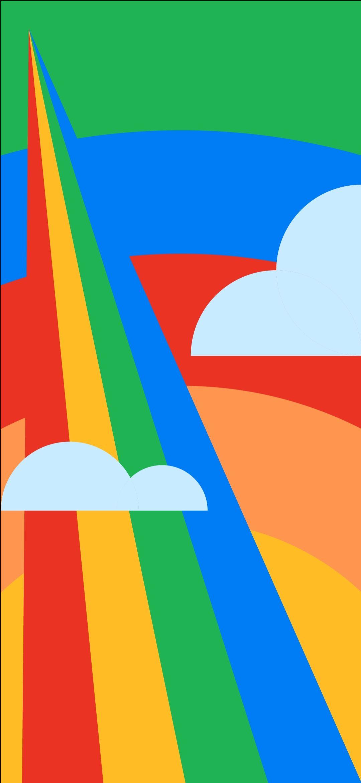 Google Pixel 4a HD Stock Wallpapers [Download]